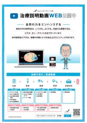 不妊治療を動画で解説 ナチュラルアートクリニック日本橋